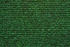 A green carpet texture Royalty Free Stock Photo