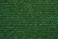 A green carpet texture Royalty Free Stock Photo