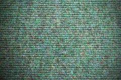 Green carpet texture Stock Photography