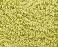 Green carpet texture Stock Image