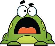 Green Cartoon Frog Royalty Free Stock Photo