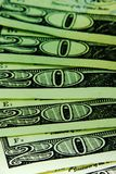 Green cash Stock Photos