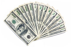 Green Cash royalty free stock photo