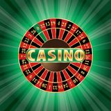 Green casino Stock Images