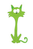 Green_cat Stock Photography