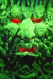 Green cave god Stock Photography