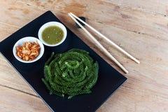 Green caviar raw food Stock Photo