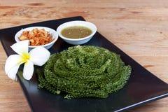 Green caviar raw food Royalty Free Stock Image