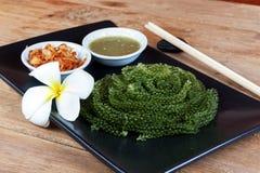 Green caviar raw food Stock Images