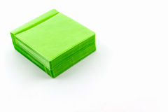 Green CD paper case. Stock Images