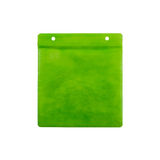 Green CD paper case. Stock Image