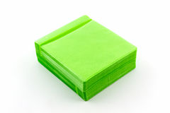 Green CD paper case. Royalty Free Stock Images