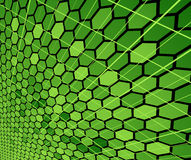 Green cell concept Royalty Free Stock Photos