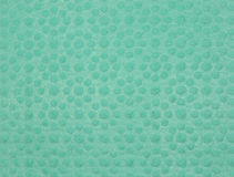 Green cellulose sponge texture. Texture of green cellulose sponge royalty free stock image