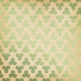 Green Celtic Triskele Background Stock Photos