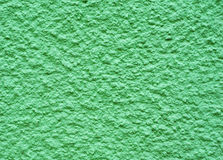 Green cement wall Stock Image
