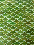 Green ceramic tiles texture background Stock Photos