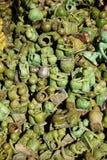 Green ceramics Stock Photography