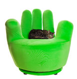 Green chair Royalty Free Stock Photo