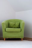 Green chair Royalty Free Stock Photography