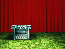 Green Chair Stock Images