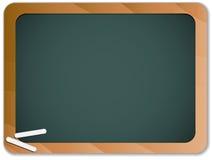 Green Chalk Blackboard Royalty Free Stock Image