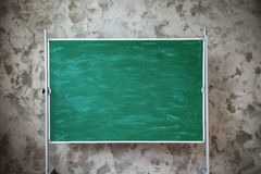Green chalk board Royalty Free Stock Images