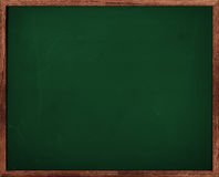 Green Chalkboard Blackboard Stock Images