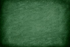Green chalkboard / blackboard Stock Photo