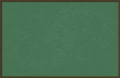 Green chalkboard / blackboard, vector illustration Royalty Free Stock Photos