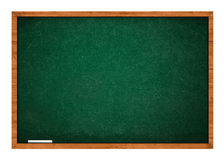 Green chalkboard with chalk