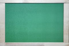 Green Chalkboard Stock Image