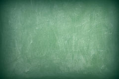Green chalkboard. Texture as background Stock Photo