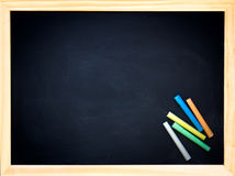 Green chalkboard Royalty Free Stock Images