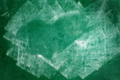 Green chalkboard texture royalty free stock image