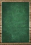 Green chalkboard texture , framed Stock Photos
