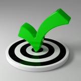 Green check Stock Photos