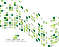 Green checked background Stock Images