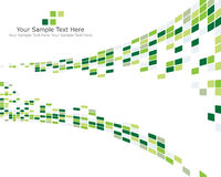 Green checked background. Abstract checked  business background for use in web design Stock Image
