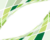 Green checked background Royalty Free Stock Photos