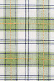 Green checked dish towel pattern Royalty Free Stock Photo