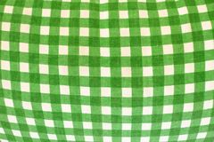 Green Checkered Gingham Royalty Free Stock Images