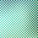 Green Checkered Grunge Royalty Free Stock Photography