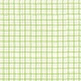 Green checkered pattern Stock Photo