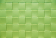 Green checkered Placemat, background and Stock Images