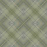 Green checkered seamless pattern Royalty Free Stock Image