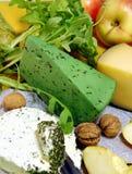 Green cheese  Stock Photos