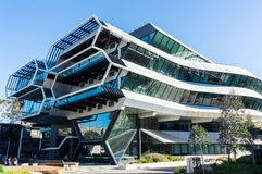 Free Green Chemical Futures Building At The Monash University Clayton Campus. Royalty Free Stock Images - 124474179