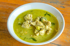 Green Chicken Curry Royalty Free Stock Images
