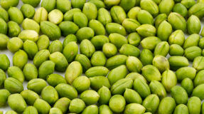 Green Chickpeas Royalty Free Stock Photo